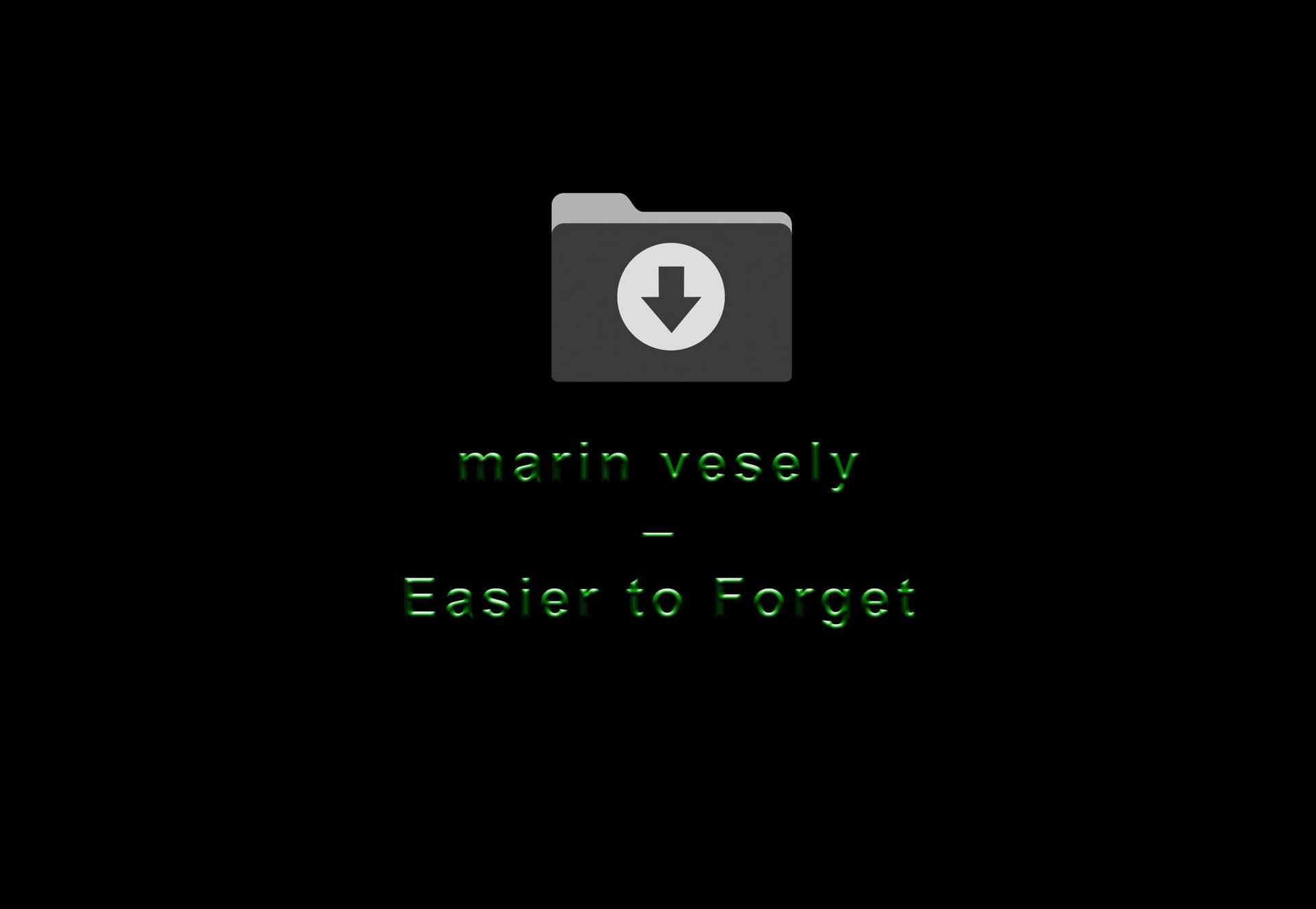 Mais Fácil de Esquecer (Easier to Forget)