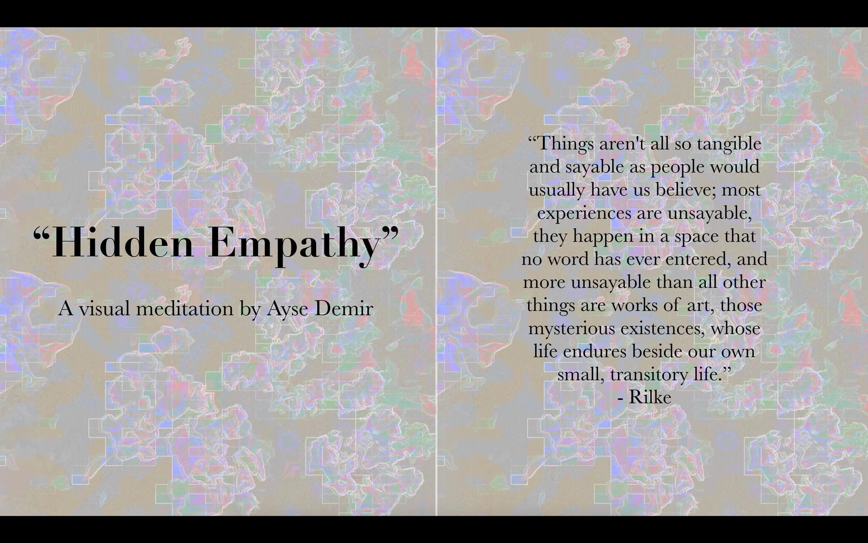 Hidden Empathy