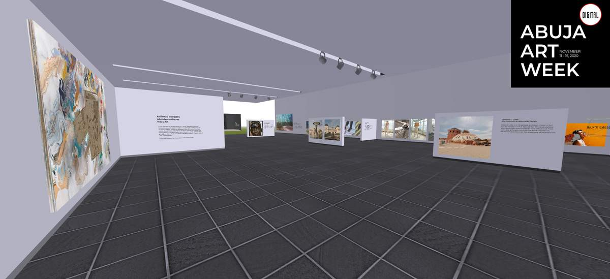 Poster image for Abuja Art Week Digital 2020 Exhibition Pavilion